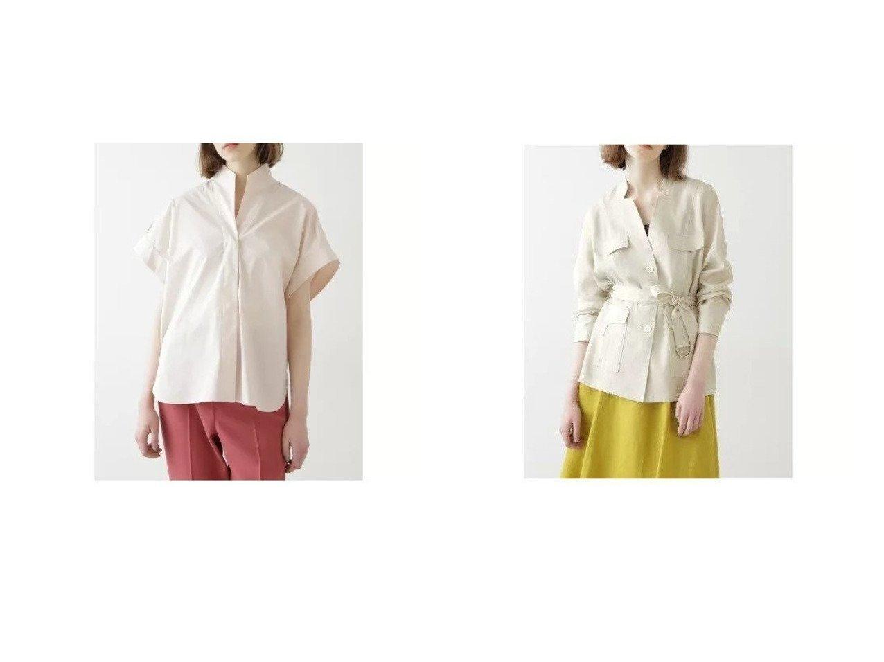 【BOSCH/ボッシュ】のスタンドハーフスリーブシャツ&ソフト麻セットアップブラウス 【トップス・カットソー】おすすめ!人気、トレンド・レディースファッションの通販 おすすめで人気の流行・トレンド、ファッションの通販商品 インテリア・家具・メンズファッション・キッズファッション・レディースファッション・服の通販 founy(ファニー) https://founy.com/ ファッション Fashion レディースファッション WOMEN トップス・カットソー Tops/Tshirt シャツ/ブラウス Shirts/Blouses セットアップ Setup トップス Tops スタンダード ストレッチ フロント ブロード ポンチョ マニッシュ リラックス ジャケット セットアップ リネン |ID:crp329100000048331