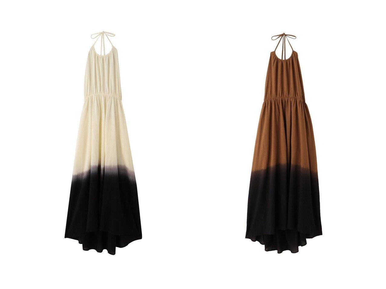 【ETRE TOKYO/エトレトウキョウ】のステップダイホルターワンピース 【ワンピース・ドレス】おすすめ!人気、トレンド・レディースファッションの通販 おすすめで人気の流行・トレンド、ファッションの通販商品 インテリア・家具・メンズファッション・キッズファッション・レディースファッション・服の通販 founy(ファニー) https://founy.com/ ファッション Fashion レディースファッション WOMEN ワンピース Dress オリエンタル カットソー グラデーション ドレス ロング |ID:crp329100000048699