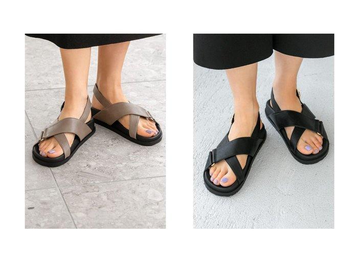【STYLE DELI/スタイルデリ】のクロスベルトフットベッドサンダルB 【シューズ・靴】おすすめ!人気トレンド・レディースファッション通販 おすすめ人気トレンドファッション通販アイテム インテリア・キッズ・メンズ・レディースファッション・服の通販 founy(ファニー) https://founy.com/ ファッション Fashion レディースファッション WOMEN ベルト Belts クッション 軽量 サンダル シェイプ シューズ シルバー スニーカー 人気 パイソン フェイクレザー フラット ベーシック ミックス 無地 NEW・新作・新着・新入荷 New Arrivals 夏 Summer |ID:crp329100000049234