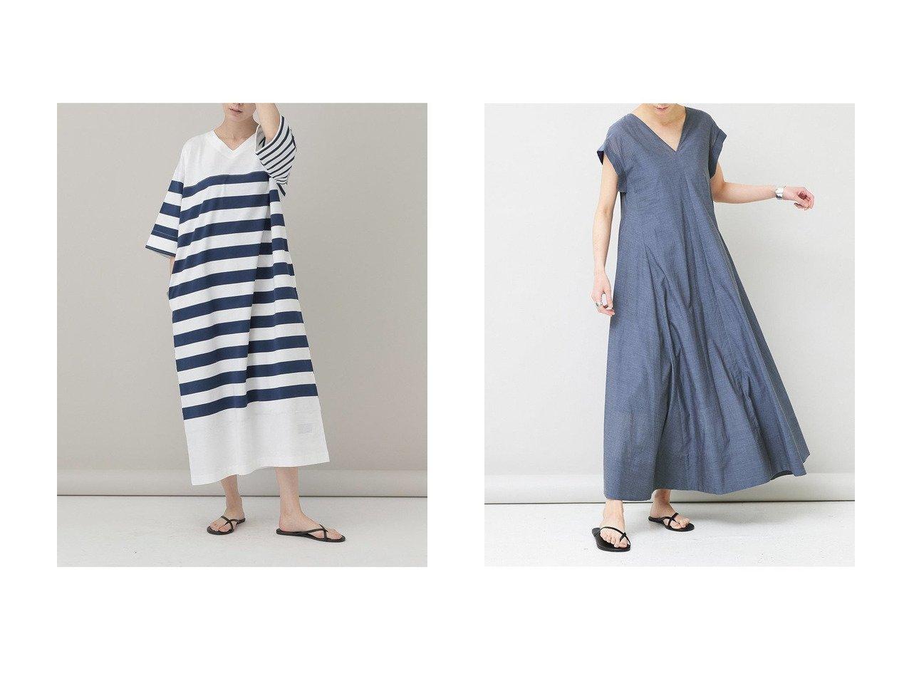 【Curensology/カレンソロジー】の【&RC】クレイジーボーダーワンピース&シャンブレーAラインワンピース 【ワンピース・ドレス】おすすめ!人気、トレンド・レディースファッションの通販  おすすめで人気の流行・トレンド、ファッションの通販商品 インテリア・家具・メンズファッション・キッズファッション・レディースファッション・服の通販 founy(ファニー) https://founy.com/ ファッション Fashion レディースファッション WOMEN ワンピース Dress Aラインワンピース A-line Dress サマー シャンブレー ドレス ラグジュアリー ロング バランス ボーダー リラックス 無地 |ID:crp329100000049262