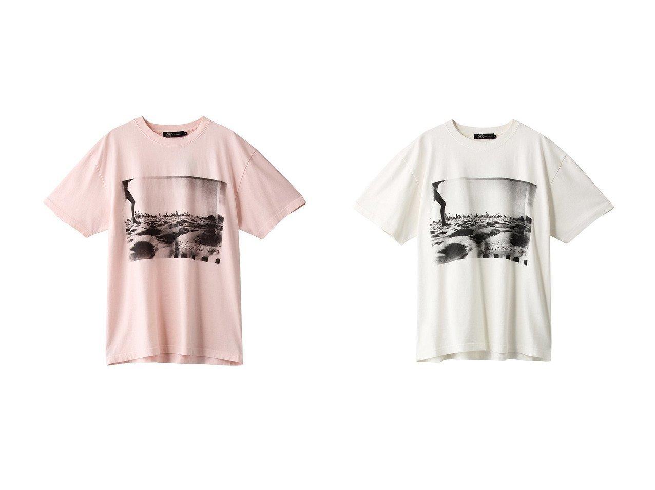 【JET/ジェット】の【JET LOSANGELES】プリントTシャツ 【トップス・カットソー】おすすめ!人気、トレンド・レディースファッションの通販  おすすめで人気の流行・トレンド、ファッションの通販商品 インテリア・家具・メンズファッション・キッズファッション・レディースファッション・服の通販 founy(ファニー) https://founy.com/ ファッション Fashion レディースファッション WOMEN トップス・カットソー Tops/Tshirt シャツ/ブラウス Shirts/Blouses ロング / Tシャツ T-Shirts カットソー Cut and Sewn おすすめ Recommend ショート スリーブ トレンド ビーチ プリント ワイド 半袖 夏 Summer  ID:crp329100000049304