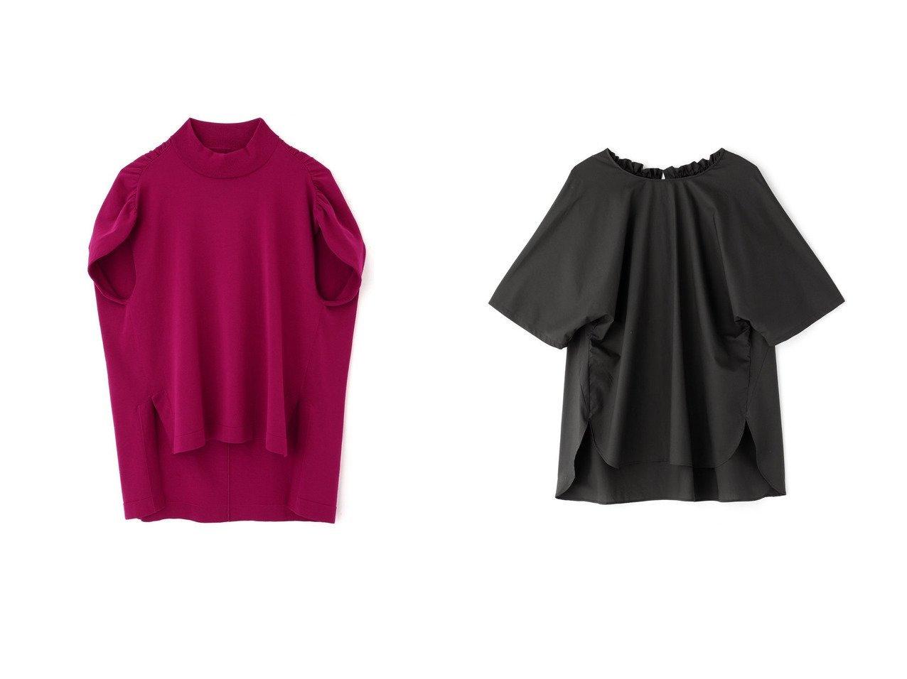 【ADORE/アドーア】のドライコットンニットトップス&クールタイプライターブラウス 【トップス・カットソー】おすすめ!人気、トレンド・レディースファッションの通販  おすすめで人気の流行・トレンド、ファッションの通販商品 インテリア・家具・メンズファッション・キッズファッション・レディースファッション・服の通販 founy(ファニー) https://founy.com/ ファッション Fashion レディースファッション WOMEN トップス・カットソー Tops/Tshirt シャツ/ブラウス Shirts/Blouses ニット Knit Tops プルオーバー Pullover ショート スリーブ ヘムライン ボトム おすすめ Recommend カットソー ストレッチ 人気  ID:crp329100000049308