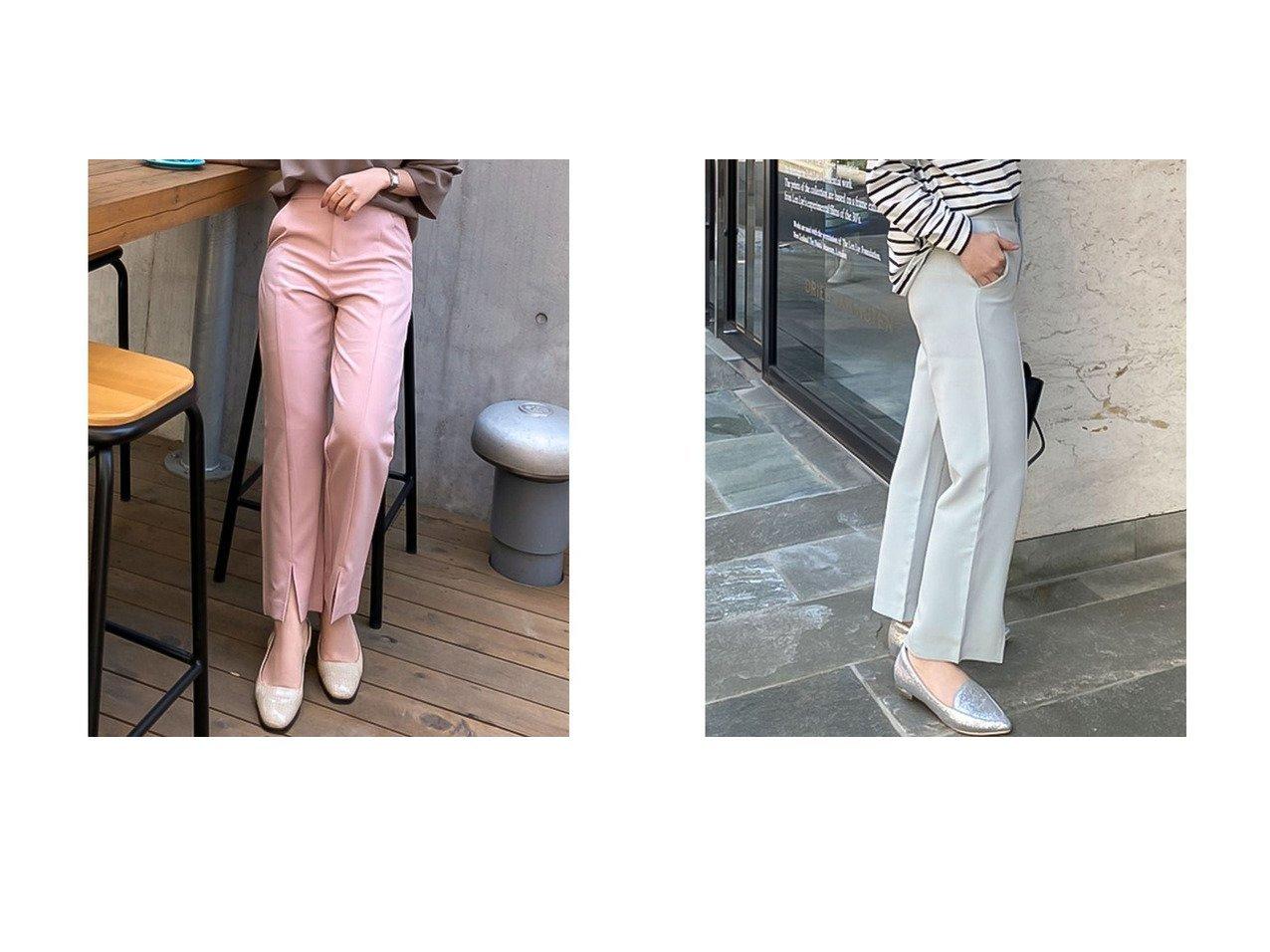【KOBE LETTUCE/神戸レタス】の[ Nagisaさん Yuumiさんコラボ ] 前開きパンツ【なぎささん】 [M3245] 【プチプライス・低価格】おすすめ!人気トレンド・レディースファッション通販 おすすめで人気の流行・トレンド、ファッションの通販商品 インテリア・家具・メンズファッション・キッズファッション・レディースファッション・服の通販 founy(ファニー) https://founy.com/ ファッション Fashion レディースファッション WOMEN パンツ Pants ウォッシャブル 春 Spring コラボ シンプル スラックス スリット センター フレア ロング 2021年 2021 S/S・春夏 SS・Spring/Summer 2021春夏・S/S SS/Spring/Summer/2021 夏 Summer |ID:crp329100000049359