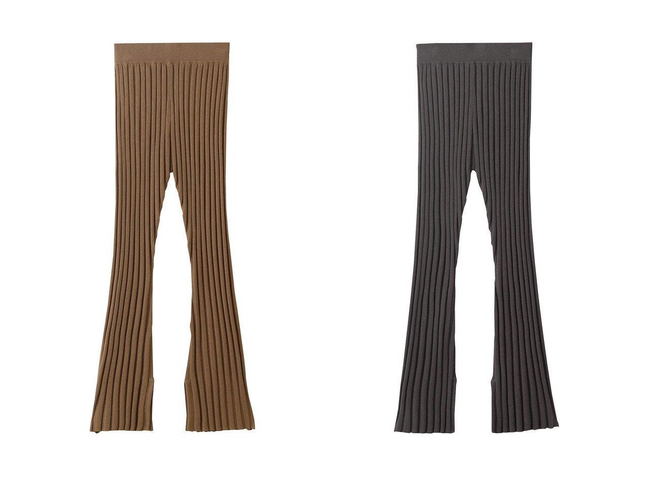 【HOUSE OF LOTUS/ハウス オブ ロータス】のリネンコットン横編みリブニットパンツ 【パンツ】おすすめ!人気、トレンド・レディースファッションの通販 おすすめで人気の流行・トレンド、ファッションの通販商品 インテリア・家具・メンズファッション・キッズファッション・レディースファッション・服の通販 founy(ファニー) https://founy.com/ ファッション Fashion レディースファッション WOMEN パンツ Pants おすすめ Recommend ストライプ スリット セットアップ リネン |ID:crp329100000049377