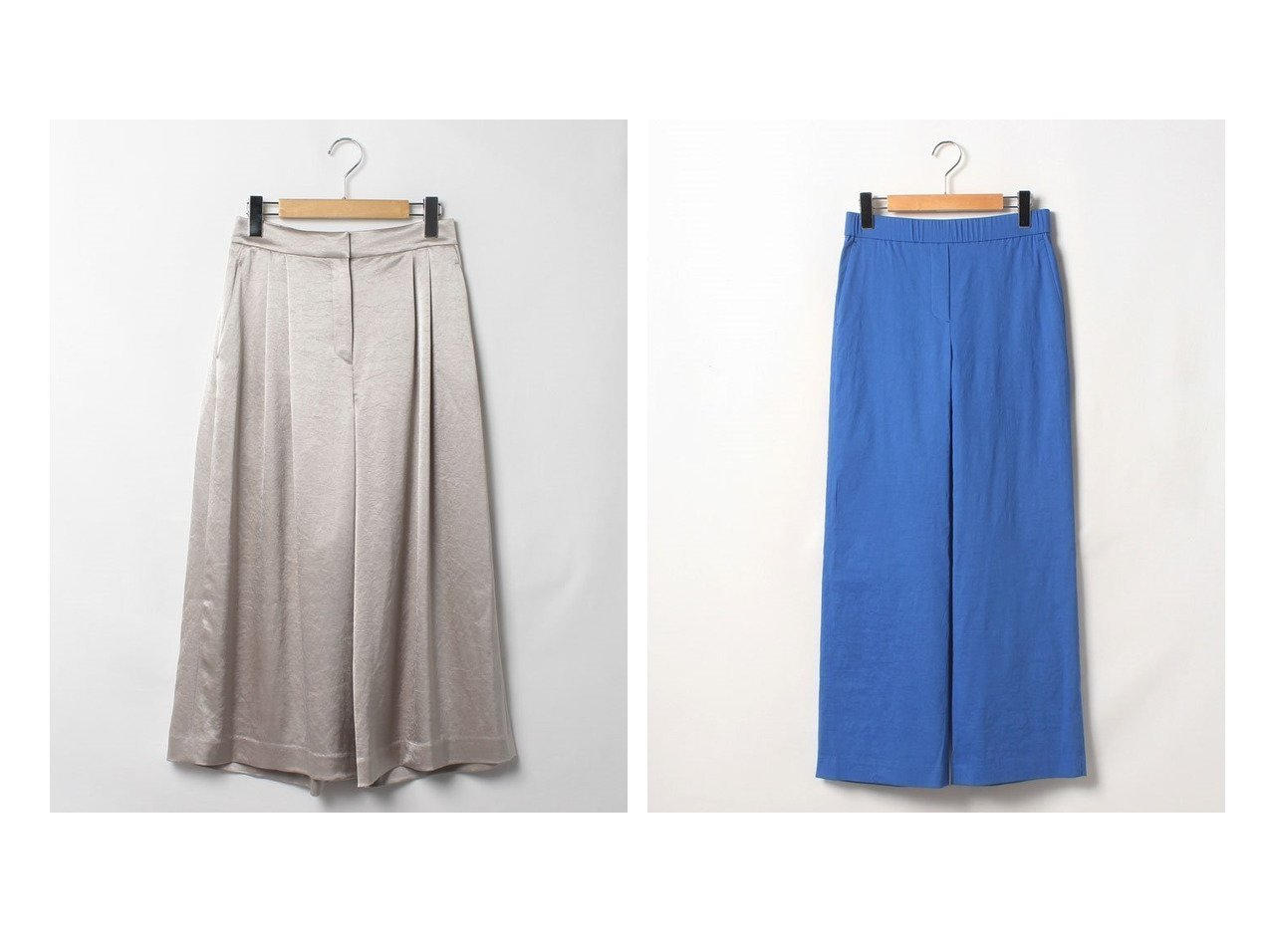 【Theory Luxe/セオリーリュクス】のパンツ CANAL POSEY&パンツ ECO CRUNCH W SAUL 【パンツ】おすすめ!人気、トレンド・レディースファッションの通販 おすすめで人気の流行・トレンド、ファッションの通販商品 インテリア・家具・メンズファッション・キッズファッション・レディースファッション・服の通販 founy(ファニー) https://founy.com/ ファッション Fashion レディースファッション WOMEN パンツ Pants サテン シルク ファブリック フェミニン ミモレ 吸水 NEW・新作・新着・新入荷 New Arrivals フィット フロント ワイド |ID:crp329100000049385