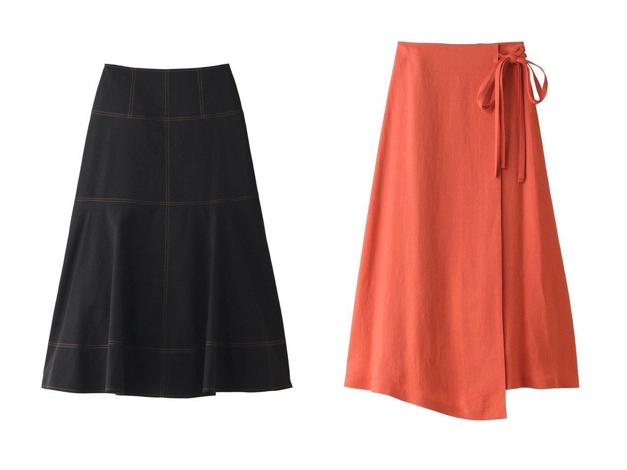 【ANAYI/アナイ】のコットンリネンロングスカート&リネンカルゼアシメスカート 【スカート】おすすめ!人気、トレンド・レディースファッションの通販 おすすめで人気の流行・トレンド、ファッションの通販商品 インテリア・家具・メンズファッション・キッズファッション・レディースファッション・服の通販 founy(ファニー) https://founy.com/ ファッション Fashion レディースファッション WOMEN スカート Skirt ロングスカート Long Skirt イレギュラー フレア ラップ リネン リボン ロング |ID:crp329100000049389