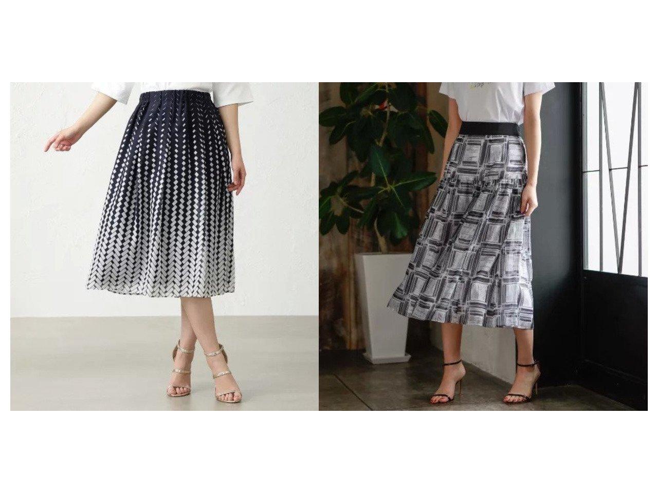 【AMACA/アマカ】のシアースクエアシャーリングスカート&オブティカルグラデーションスカート 【スカート】おすすめ!人気、トレンド・レディースファッションの通販 おすすめで人気の流行・トレンド、ファッションの通販商品 インテリア・家具・メンズファッション・キッズファッション・レディースファッション・服の通販 founy(ファニー) https://founy.com/ ファッション Fashion レディースファッション WOMEN スカート Skirt オーガンジー シャーリング シンプル スタイリッシュ チェック プリント マキシ ロング 夏 Summer 無地 ギャザー グラデーション ドレープ ランダム |ID:crp329100000049400