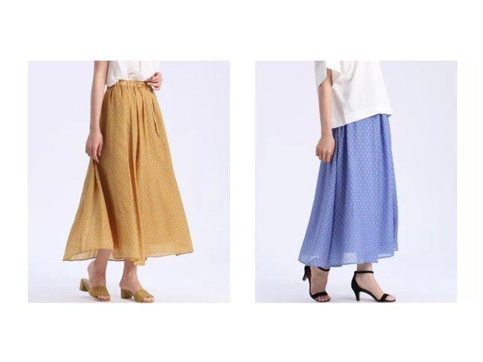 【I.T.'S. international/イッツインターナショナル】のプロヴァンス柄ロングスカート 【スカート】おすすめ!人気、トレンド・レディースファッションの通販 おすすめ人気トレンドファッション通販アイテム 人気、トレンドファッション・服の通販 founy(ファニー)  ファッション Fashion レディースファッション WOMEN スカート Skirt ロングスカート Long Skirt おすすめ Recommend ドローストリング ロング 夏 Summer |ID:crp329100000049403