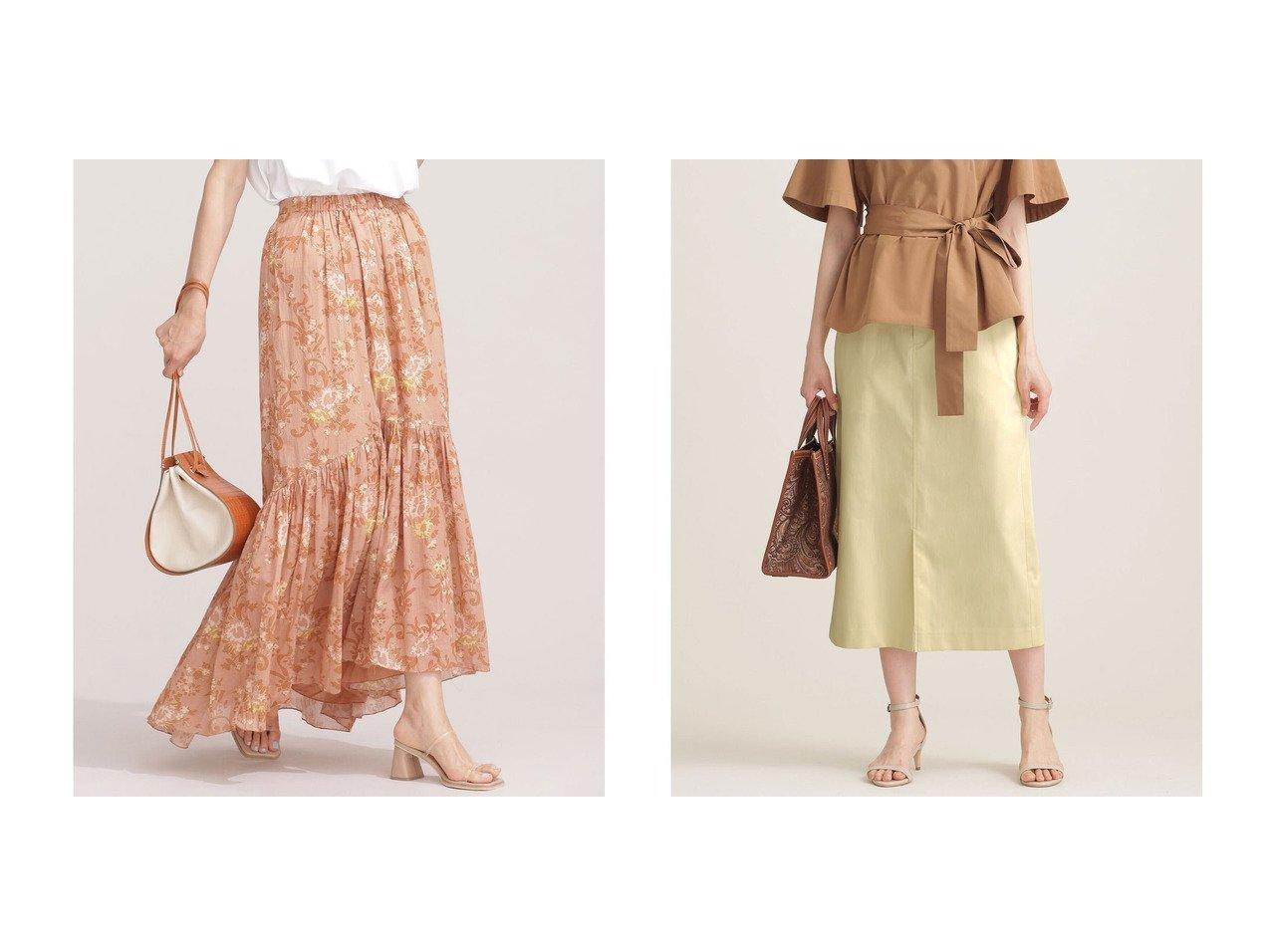 【nano universe/ナノ ユニバース】のサイドパーツ付きスカート&花柄ティアードスカート 【スカート】おすすめ!人気、トレンド・レディースファッションの通販 おすすめで人気の流行・トレンド、ファッションの通販商品 インテリア・家具・メンズファッション・キッズファッション・レディースファッション・服の通販 founy(ファニー) https://founy.com/ ファッション Fashion レディースファッション WOMEN スカート Skirt ティアードスカート Tiered Skirts ウォッシャブル 春 Spring シンプル スリット 2021年 2021 S/S・春夏 SS・Spring/Summer 2021春夏・S/S SS/Spring/Summer/2021 夏 Summer お家時間・ステイホーム Home Time/Stay Home インド ティアード ティアードスカート フェミニン フラワー プリント マキシ リラックス ロング |ID:crp329100000049405