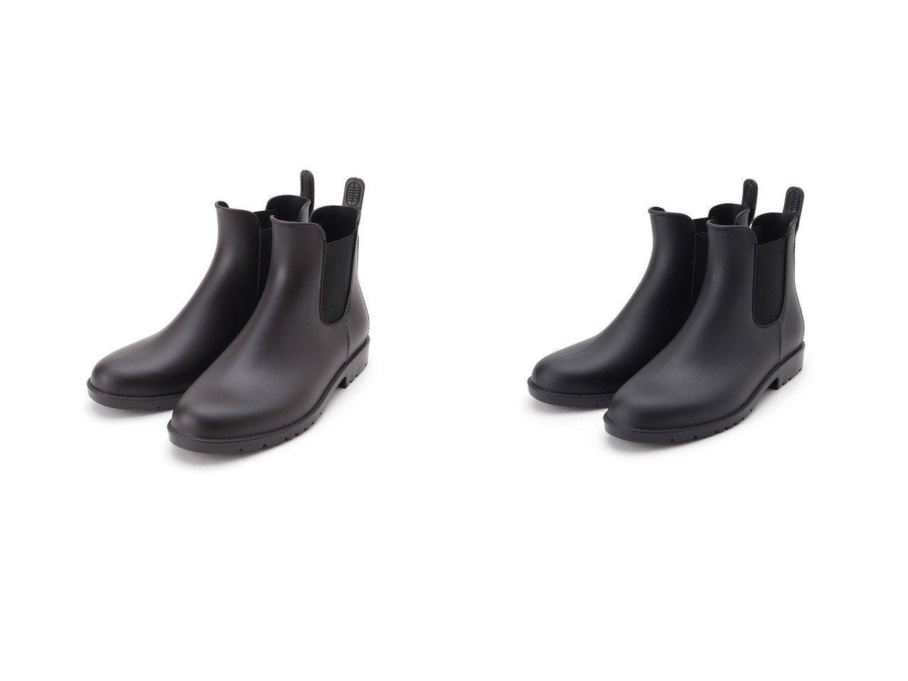 【Dessin/デッサン】のWpc. サイドゴアレインブーツ 【シューズ・靴】おすすめ!人気、トレンド・レディースファッションの通販 おすすめで人気の流行・トレンド、ファッションの通販商品 インテリア・家具・メンズファッション・キッズファッション・レディースファッション・服の通販 founy(ファニー) https://founy.com/ ファッション Fashion レディースファッション WOMEN インソール シューズ シンプル ループ |ID:crp329100000049425