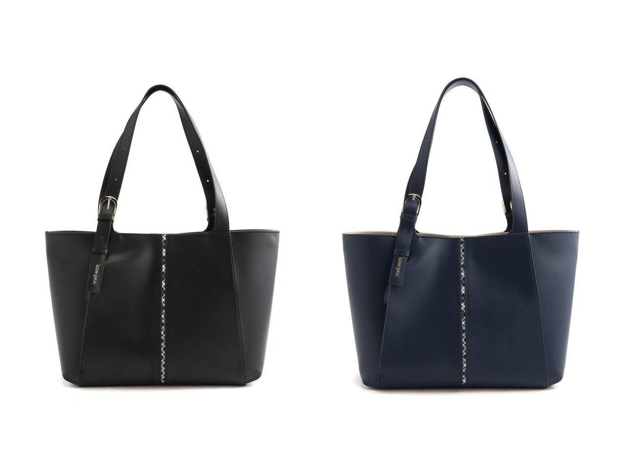 【NEWYORKER ACCESSORY/ニューヨーカー アクセサリー】のニューノーマルビジネス トート 【バッグ・鞄】おすすめ!人気、トレンド・レディースファッションの通販 おすすめで人気の流行・トレンド、ファッションの通販商品 インテリア・家具・メンズファッション・キッズファッション・レディースファッション・服の通販 founy(ファニー) https://founy.com/ ファッション Fashion レディースファッション WOMEN バッグ Bag ショルダー チェック トートバック フォルム ポケット |ID:crp329100000049433