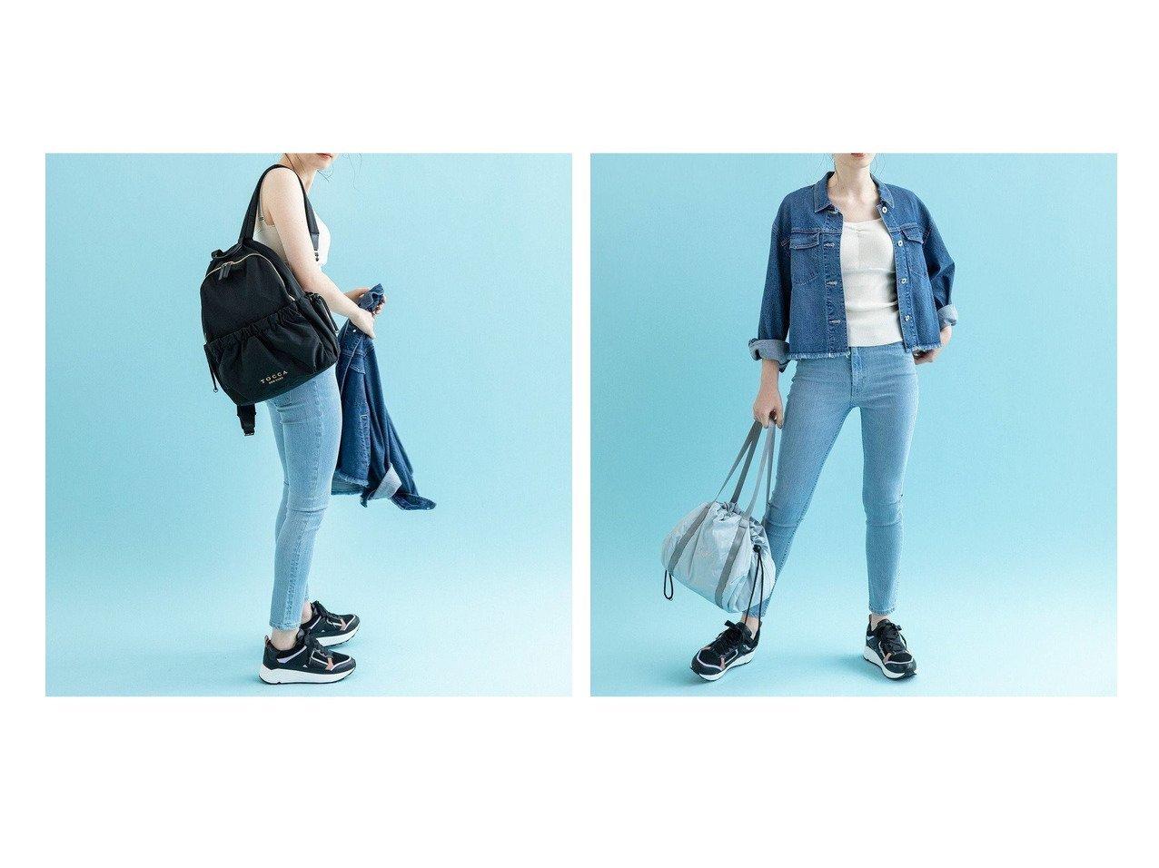 【TOCCA/トッカ】のSANA BACKPACK バックパック&SANA SAC バッグ 【バッグ・鞄】おすすめ!人気、トレンド・レディースファッションの通販 おすすめで人気の流行・トレンド、ファッションの通販商品 インテリア・家具・メンズファッション・キッズファッション・レディースファッション・服の通販 founy(ファニー) https://founy.com/ ファッション Fashion レディースファッション WOMEN バッグ Bag 送料無料 Free Shipping アウトドア エアリー クラウン テクスチャー トラベル フェミニン フリル ポケット リュック リラックス 財布 |ID:crp329100000049436