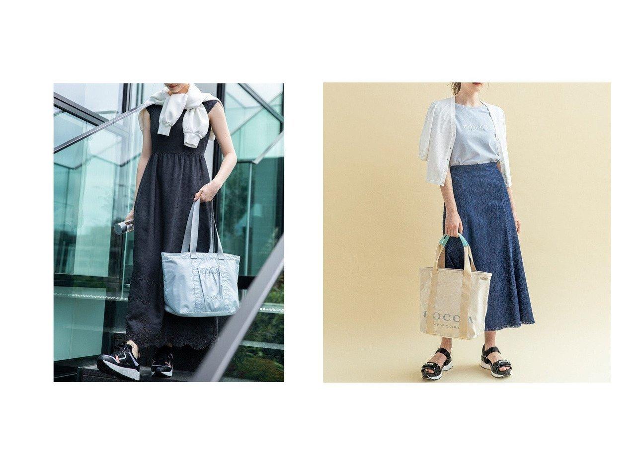 【TOCCA/トッカ】のSANA TOTE トートバッグ&【WEB限定】BIG TOCCA TOTE L トートバッグ L 【バッグ・鞄】おすすめ!人気、トレンド・レディースファッションの通販 おすすめで人気の流行・トレンド、ファッションの通販商品 インテリア・家具・メンズファッション・キッズファッション・レディースファッション・服の通販 founy(ファニー) https://founy.com/ ファッション Fashion レディースファッション WOMEN バッグ Bag 送料無料 Free Shipping アウトドア エアリー クラウン テクスチャー トラベル フェミニン フリル ポケット リラックス 財布 シンプル ベーシック |ID:crp329100000049437
