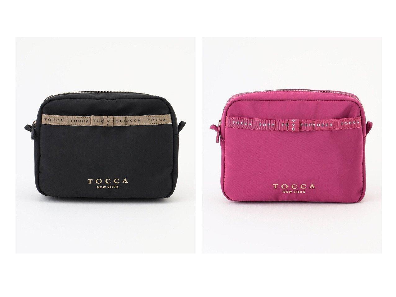 【TOCCA/トッカ】のLOGO RIBBON BAG IN POUCH バッグインポーチ 【バッグ・鞄】おすすめ!人気、トレンド・レディースファッションの通販 おすすめで人気の流行・トレンド、ファッションの通販商品 インテリア・家具・メンズファッション・キッズファッション・レディースファッション・服の通販 founy(ファニー) https://founy.com/ ファッション Fashion レディースファッション WOMEN 財布 Wallets ポーチ Pouches 送料無料 Free Shipping シンプル フォルム ポケット ポーチ リボン 財布 |ID:crp329100000049440