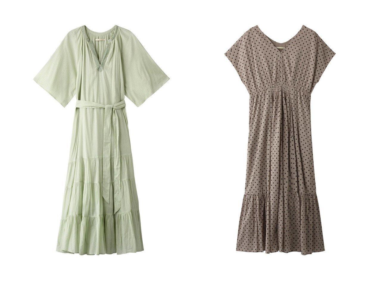 【NE QUITTEZ PAS/ヌキテパ】のコットンボイルティアードエンブロイダリードレス&ボイルドットプリントフレンチスリーブドレス 【ワンピース・ドレス】おすすめ!人気、トレンド・レディースファッションの通販 おすすめで人気の流行・トレンド、ファッションの通販商品 インテリア・家具・メンズファッション・キッズファッション・レディースファッション・服の通販 founy(ファニー) https://founy.com/ ファッション Fashion レディースファッション WOMEN ワンピース Dress ドレス Party Dresses スリーブ デコルテ ドット ドレス バランス フェミニン フレンチ ロング 定番 Standard S/S・春夏 SS・Spring/Summer ハンド 夏 Summer 春 Spring  ID:crp329100000049456