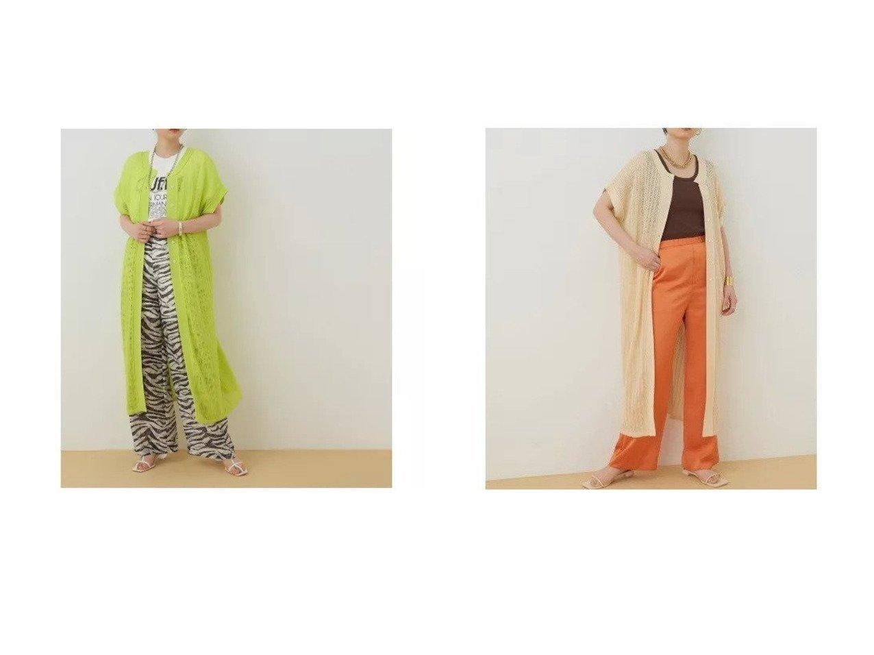 【ADAM ET ROPE'/アダム エ ロペ】の柄編みニット2WAYワンピース 【ワンピース・ドレス】おすすめ!人気、トレンド・レディースファッションの通販 おすすめで人気の流行・トレンド、ファッションの通販商品 インテリア・家具・メンズファッション・キッズファッション・レディースファッション・服の通販 founy(ファニー) https://founy.com/ ファッション Fashion レディースファッション WOMEN ワンピース Dress インナー 春 Spring サテン 透かし タンク ボトム ポケット 半袖 2021年 2021 S/S・春夏 SS・Spring/Summer 2021春夏・S/S SS/Spring/Summer/2021 おすすめ Recommend 夏 Summer  ID:crp329100000049482