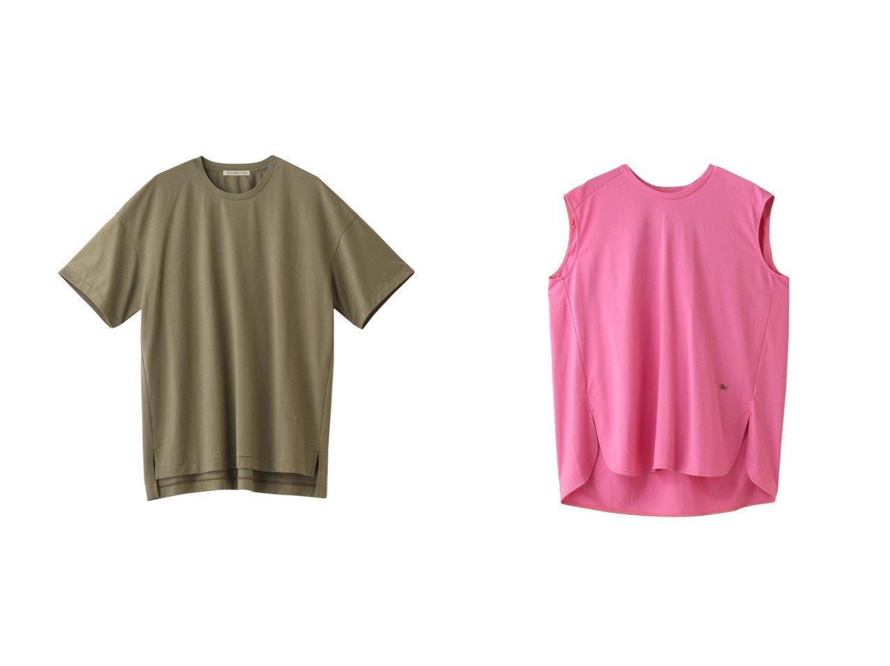 【DESIGN WORKS/デザイン ワークス】のクルーネックTシャツ&ノースリーブロングTシャツ 【トップス・カットソー】おすすめ!人気、トレンド・レディースファッションの通販 おすすめで人気の流行・トレンド、ファッションの通販商品 インテリア・家具・メンズファッション・キッズファッション・レディースファッション・服の通販 founy(ファニー) https://founy.com/ ファッション Fashion レディースファッション WOMEN トップス・カットソー Tops/Tshirt シャツ/ブラウス Shirts/Blouses ロング / Tシャツ T-Shirts カットソー Cut and Sewn キャミソール / ノースリーブ No Sleeves インド ショート シンプル スリーブ キャミソール ギャザー スリット タンク ノースリーブ ロング |ID:crp329100000049511