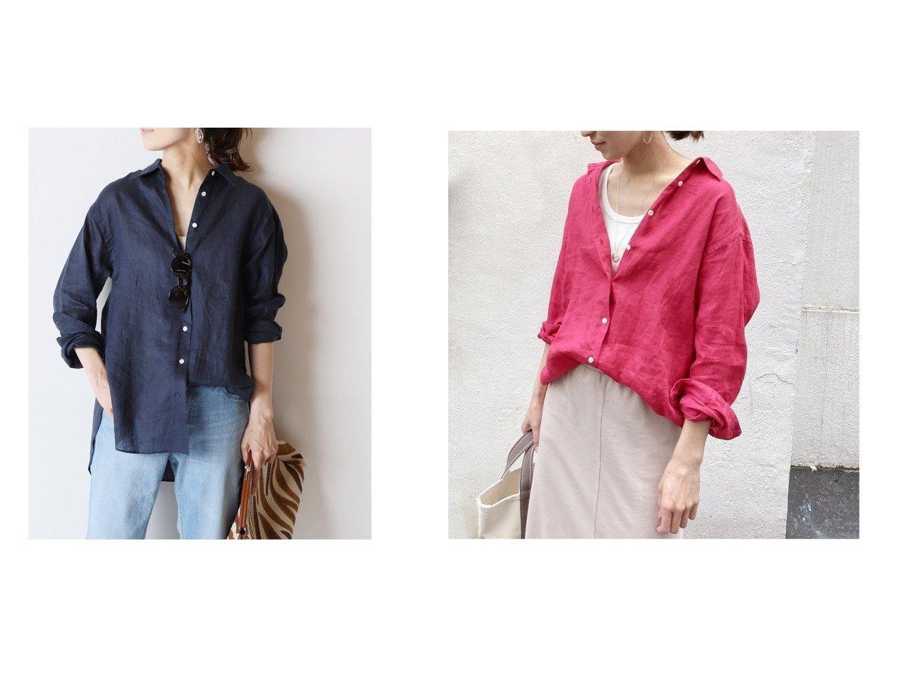 【FRAMeWORK/フレームワーク】のFRENCH LINEN シャツ2 【トップス・カットソー】おすすめ!人気、トレンド・レディースファッションの通販 おすすめで人気の流行・トレンド、ファッションの通販商品 インテリア・家具・メンズファッション・キッズファッション・レディースファッション・服の通販 founy(ファニー) https://founy.com/ ファッション Fashion レディースファッション WOMEN トップス・カットソー Tops/Tshirt シャツ/ブラウス Shirts/Blouses 2021年 2021 2021春夏・S/S SS/Spring/Summer/2021 S/S・春夏 SS・Spring/Summer フレンチ ボトム リネン 再入荷 Restock/Back in Stock/Re Arrival 夏 Summer 定番 Standard 春 Spring  ID:crp329100000049528
