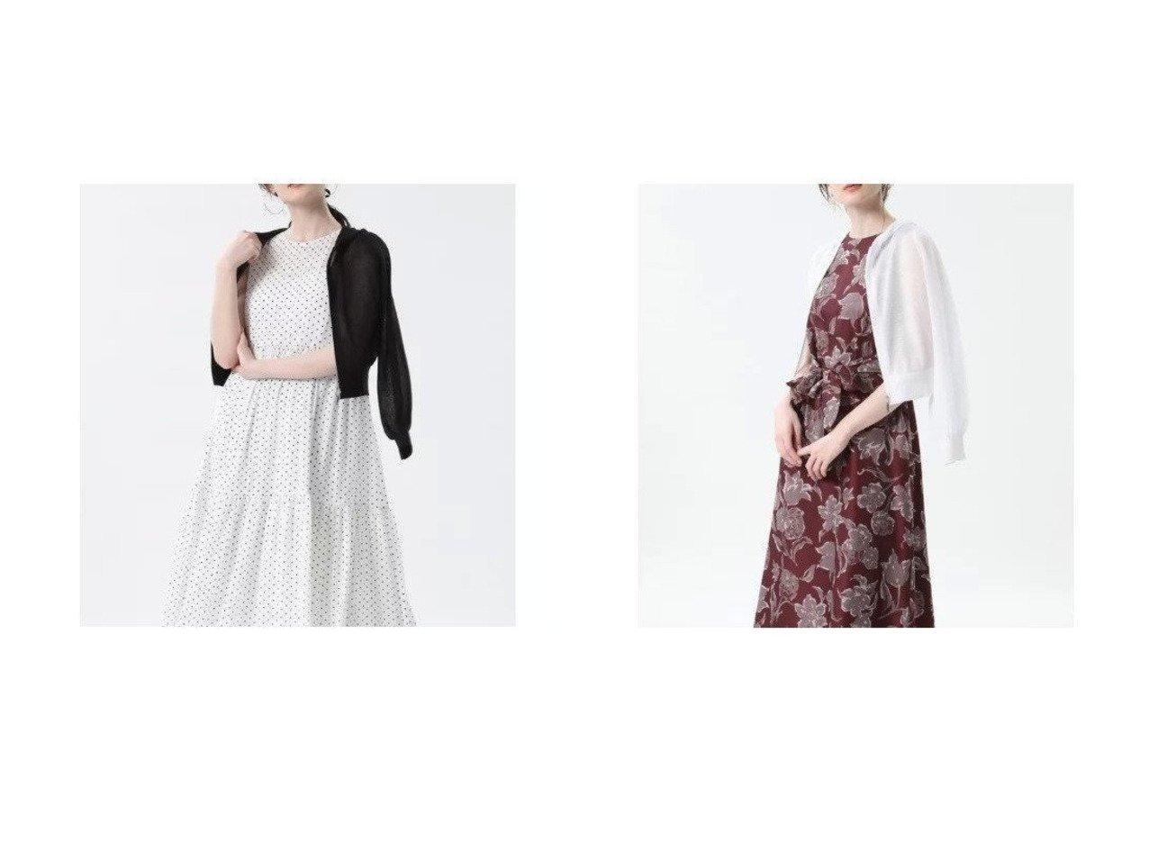 【ef-de/エフデ】の《Maglie par ef-de》シアーパーカー 【トップス・カットソー】おすすめ!人気、トレンド・レディースファッションの通販 おすすめで人気の流行・トレンド、ファッションの通販商品 インテリア・家具・メンズファッション・キッズファッション・レディースファッション・服の通販 founy(ファニー) https://founy.com/ ファッション Fashion レディースファッション WOMEN トップス・カットソー Tops/Tshirt カーディガン Cardigans パーカ Sweats カーディガン コンパクト シアー バランス パーカー フェミニン  ID:crp329100000049536