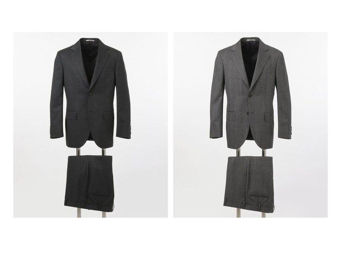 【J.PRESS / MEN/ジェイ プレス】の【Essential Clothing】グレナカートチェック スーツ 【MEN】おすすめ!人気トレンド・男性、メンズファッションの通販  おすすめ人気トレンドファッション通販アイテム インテリア・キッズ・メンズ・レディースファッション・服の通販 founy(ファニー) https://founy.com/ ファッション Fashion メンズファッション MEN セットアップ Setup/Men ストライプ スーツ セットアップ チェック トレンド ファブリック モダン 無地 リラックス 送料無料 Free Shipping |ID:crp329100000049635