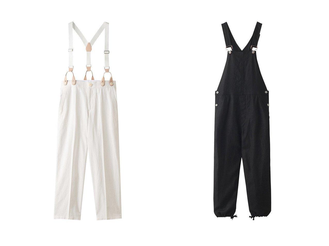 【nagonstans/ナゴンスタンス】のLiツイル サスペンダートラウザー・パンツ&LINEN Overall オーバーオール 【パンツ】おすすめ!人気、トレンド・レディースファッションの通販 おすすめで人気の流行・トレンド、ファッションの通販商品 インテリア・家具・メンズファッション・キッズファッション・レディースファッション・服の通販 founy(ファニー) https://founy.com/ ファッション Fashion レディースファッション WOMEN パンツ Pants サスペンダー センター ツイル リネン 再入荷 Restock/Back in Stock/Re Arrival  ID:crp329100000049687