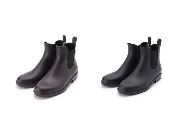 【Dessin/デッサン】のWpc. サイドゴアレインブーツ 【シューズ・靴】おすすめ!人気、トレンド・レディースファッションの通販 おすすめ人気トレンドファッション通販アイテム 人気、トレンドファッション・服の通販 founy(ファニー) ファッション Fashion レディースファッション WOMEN インソール シューズ シンプル ループ |ID:crp329100000049726