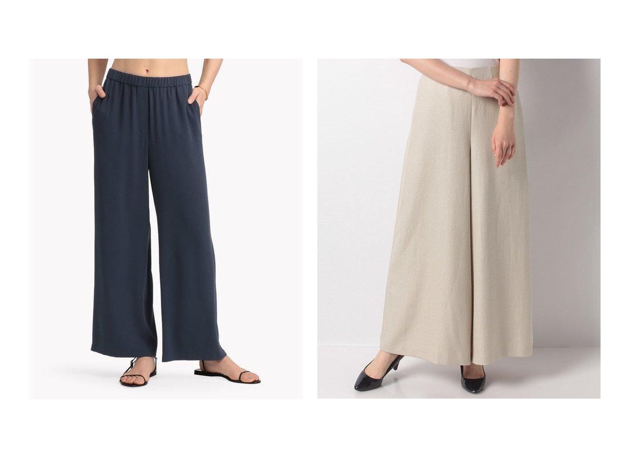 【ANAYI/アナイ】のボリュームワイドパンツ&【Theory Luxe/セオリーリュクス】のパンツ FLOW KENNA 【パンツ】おすすめ!人気、トレンド・レディースファッションの通販   おすすめで人気の流行・トレンド、ファッションの通販商品 インテリア・家具・メンズファッション・キッズファッション・レディースファッション・服の通販 founy(ファニー) https://founy.com/ ファッション Fashion レディースファッション WOMEN パンツ Pants クロップド サマー ジャケット スマート フレア モダン リネン ロング ワイド S/S・春夏 SS・Spring/Summer 夏 Summer |ID:crp329100000050252