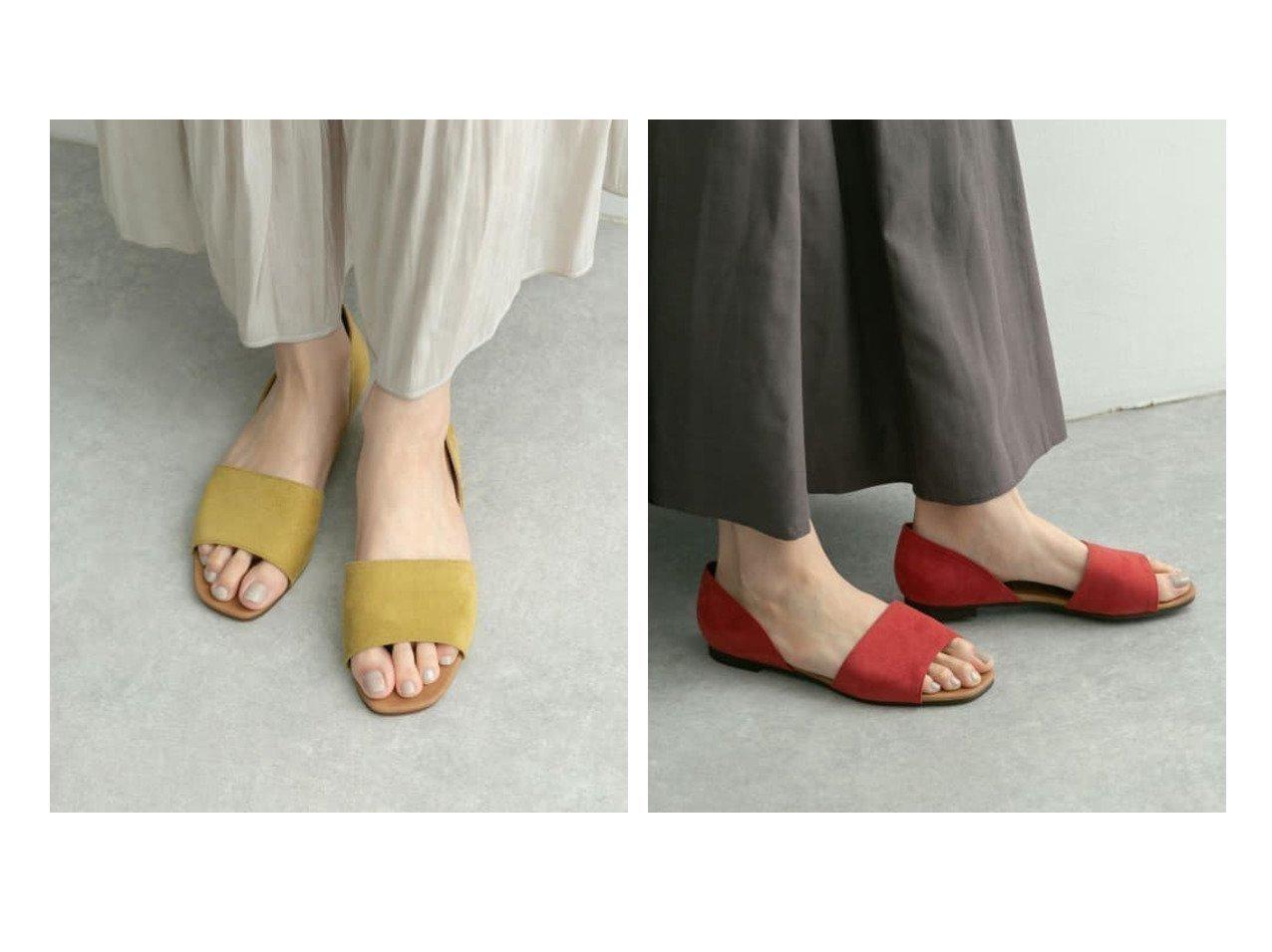 【RODE SKO / URBAN RESEARCH/ロデスコ】のELLEN セパレートフラットサンダル 【シューズ・靴】おすすめ!人気、トレンド・レディースファッションの通販 おすすめで人気の流行・トレンド、ファッションの通販商品 インテリア・家具・メンズファッション・キッズファッション・レディースファッション・服の通販 founy(ファニー) https://founy.com/ ファッション Fashion レディースファッション WOMEN サンダル シューズ シンプル ベーシック ラップ 日本製 Made in Japan |ID:crp329100000050306
