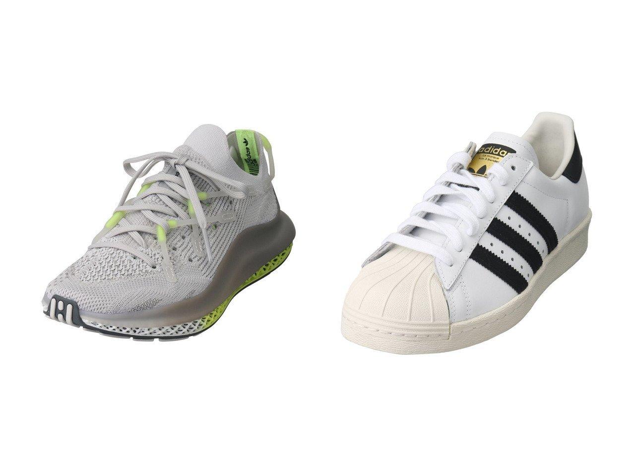 【PLAIN PEOPLE/プレインピープル】の【adidas】4D FUSIO FY5928&【adidas】SUPERSTAR 80s G61070 【シューズ・靴】おすすめ!人気、トレンド・レディースファッションの通販   おすすめで人気の流行・トレンド、ファッションの通販商品 インテリア・家具・メンズファッション・キッズファッション・レディースファッション・服の通販 founy(ファニー) https://founy.com/ ファッション Fashion レディースファッション WOMEN スニーカー モノトーン イエロー プリント メッシュ |ID:crp329100000050460