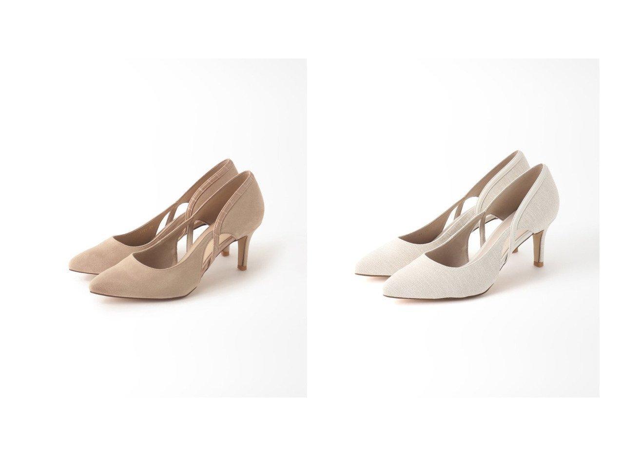 【Le Talon/ル タロン】の7cmサイドオープンウェーブパンプス 【シューズ・靴】おすすめ!人気、トレンド・レディースファッションの通販   おすすめで人気の流行・トレンド、ファッションの通販商品 インテリア・家具・メンズファッション・キッズファッション・レディースファッション・服の通販 founy(ファニー) https://founy.com/ ファッション Fashion レディースファッション WOMEN 2021年 2021 2021春夏・S/S SS/Spring/Summer/2021 S/S・春夏 SS・Spring/Summer インソール クッション シューズ プレーン 再入荷 Restock/Back in Stock/Re Arrival 春 Spring |ID:crp329100000050462
