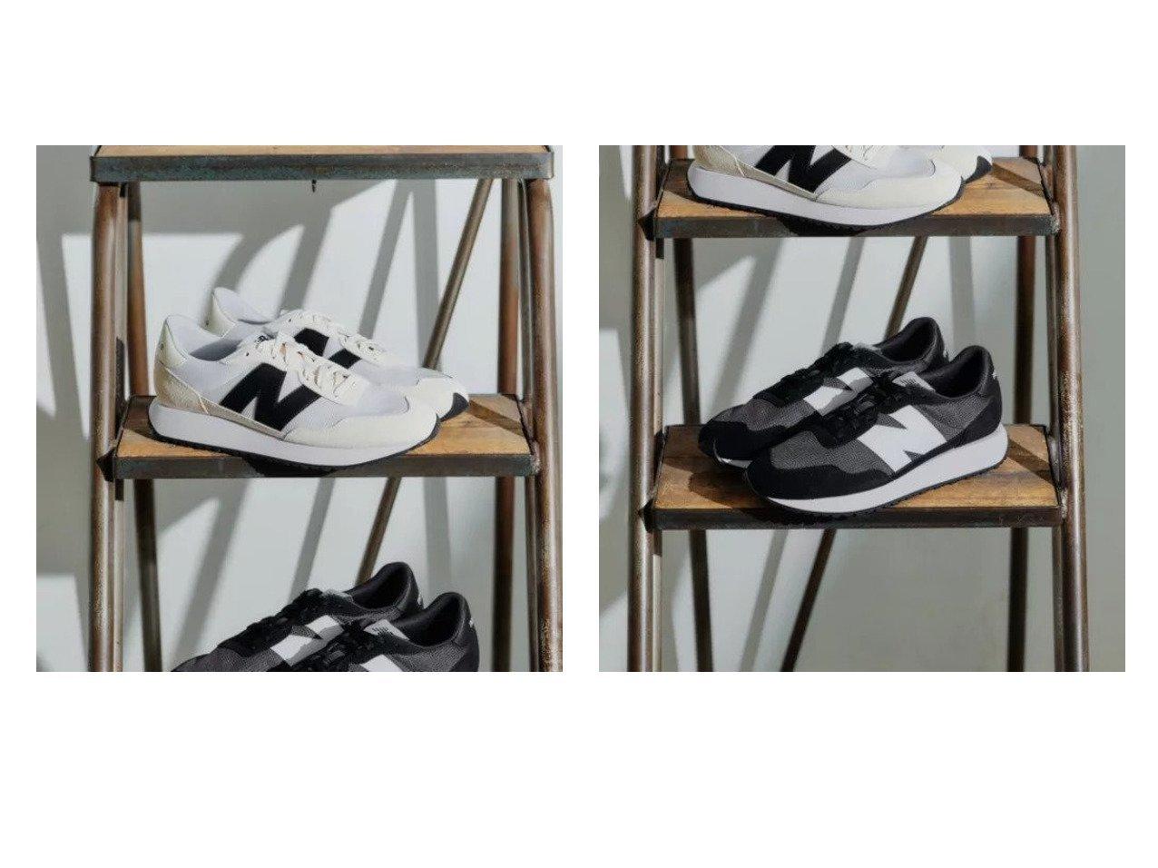 【green label relaxing / UNITED ARROWS/グリーンレーベル リラクシング / ユナイテッドアローズ】の[ ニューバランス ] New Balance SC MS237 スニーカー 【シューズ・靴】おすすめ!人気、トレンド・レディースファッションの通販   おすすめで人気の流行・トレンド、ファッションの通販商品 インテリア・家具・メンズファッション・キッズファッション・レディースファッション・服の通販 founy(ファニー) https://founy.com/ ファッション Fashion レディースファッション WOMEN コンビ シューズ スタイリッシュ スニーカー スリム 定番 Standard バランス ビッグ フィット ランニング |ID:crp329100000050464