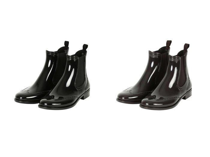 【TWW / Traditional Weatherwear/トラディショナル ウェザーウェア】のWING TIP SIDEGORE RAINBOOTS 【シューズ・靴】おすすめ!人気、トレンド・レディースファッションの通販   おすすめ人気トレンドファッション通販アイテム 人気、トレンドファッション・服の通販 founy(ファニー)  ファッション Fashion レディースファッション WOMEN シューズ |ID:crp329100000050470