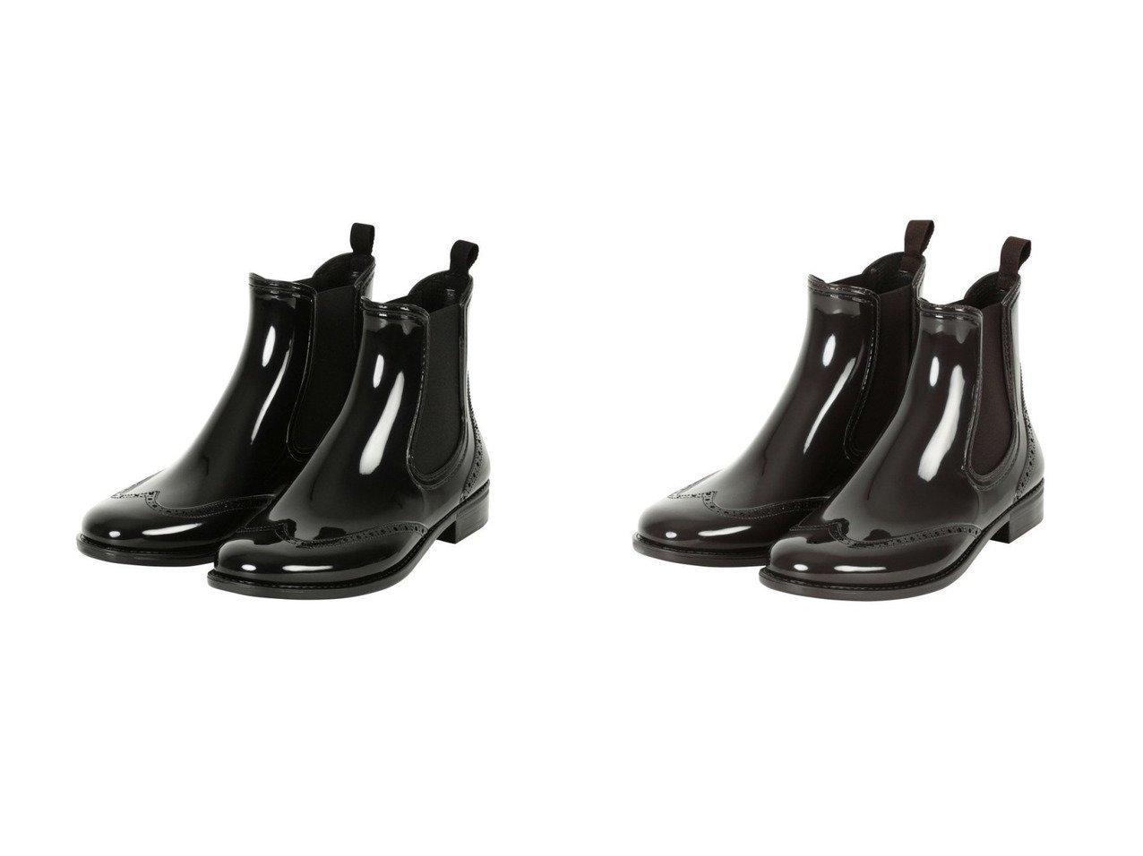 【TWW / Traditional Weatherwear/トラディショナル ウェザーウェア】のWING TIP SIDEGORE RAINBOOTS 【シューズ・靴】おすすめ!人気、トレンド・レディースファッションの通販   おすすめで人気の流行・トレンド、ファッションの通販商品 インテリア・家具・メンズファッション・キッズファッション・レディースファッション・服の通販 founy(ファニー) https://founy.com/ ファッション Fashion レディースファッション WOMEN シューズ |ID:crp329100000050470