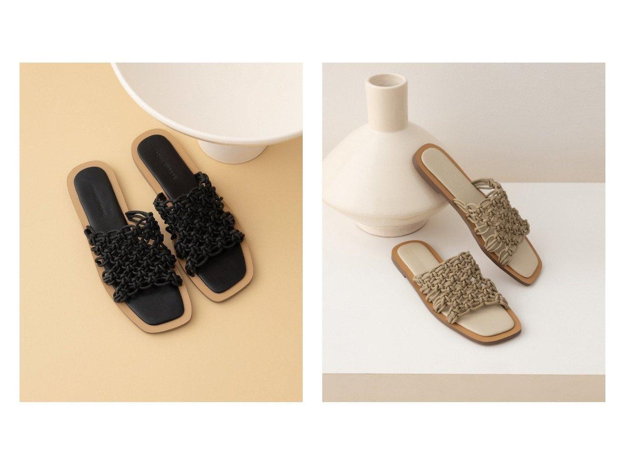 【ADAM ET ROPE'/アダム エ ロペ】のマクラメフラットサンダル 【シューズ・靴】おすすめ!人気、トレンド・レディースファッションの通販   おすすめで人気の流行・トレンド、ファッションの通販商品 インテリア・家具・メンズファッション・キッズファッション・レディースファッション・服の通販 founy(ファニー) https://founy.com/ ファッション Fashion レディースファッション WOMEN 2021年 2021 2021春夏・S/S SS/Spring/Summer/2021 S/S・春夏 SS・Spring/Summer おすすめ Recommend サンダル シューズ スクエア ネイル フラット ベーシック ミュール リネン 夏 Summer 手編み 春 Spring |ID:crp329100000050472