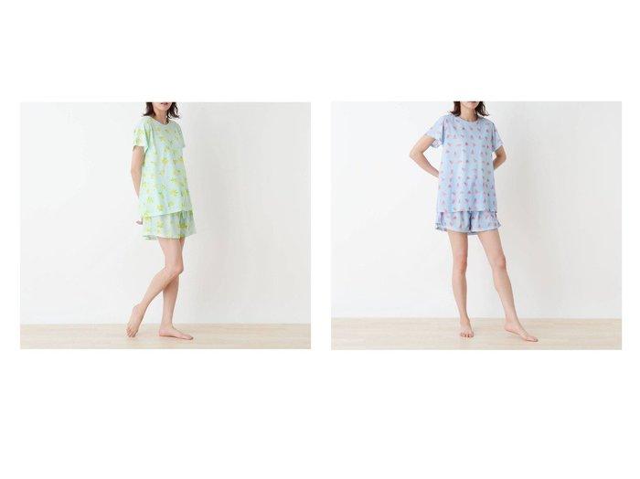 【SHOO LA RUE/シューラルー】のsenbado フレスコ冷感ルームセット 【プチプライス・低価格】おすすめ!人気トレンド・レディースファッション通販 おすすめ人気トレンドファッション通販アイテム 人気、トレンドファッション・服の通販 founy(ファニー)  ファッション Fashion レディースファッション WOMEN 2021年 2021 2021春夏・S/S SS/Spring/Summer/2021 S/S・春夏 SS・Spring/Summer お家時間・ステイホーム Home Time/Stay Home パジャマ ポケット 夏 Summer 巾着 春 Spring  ID:crp329100000050616