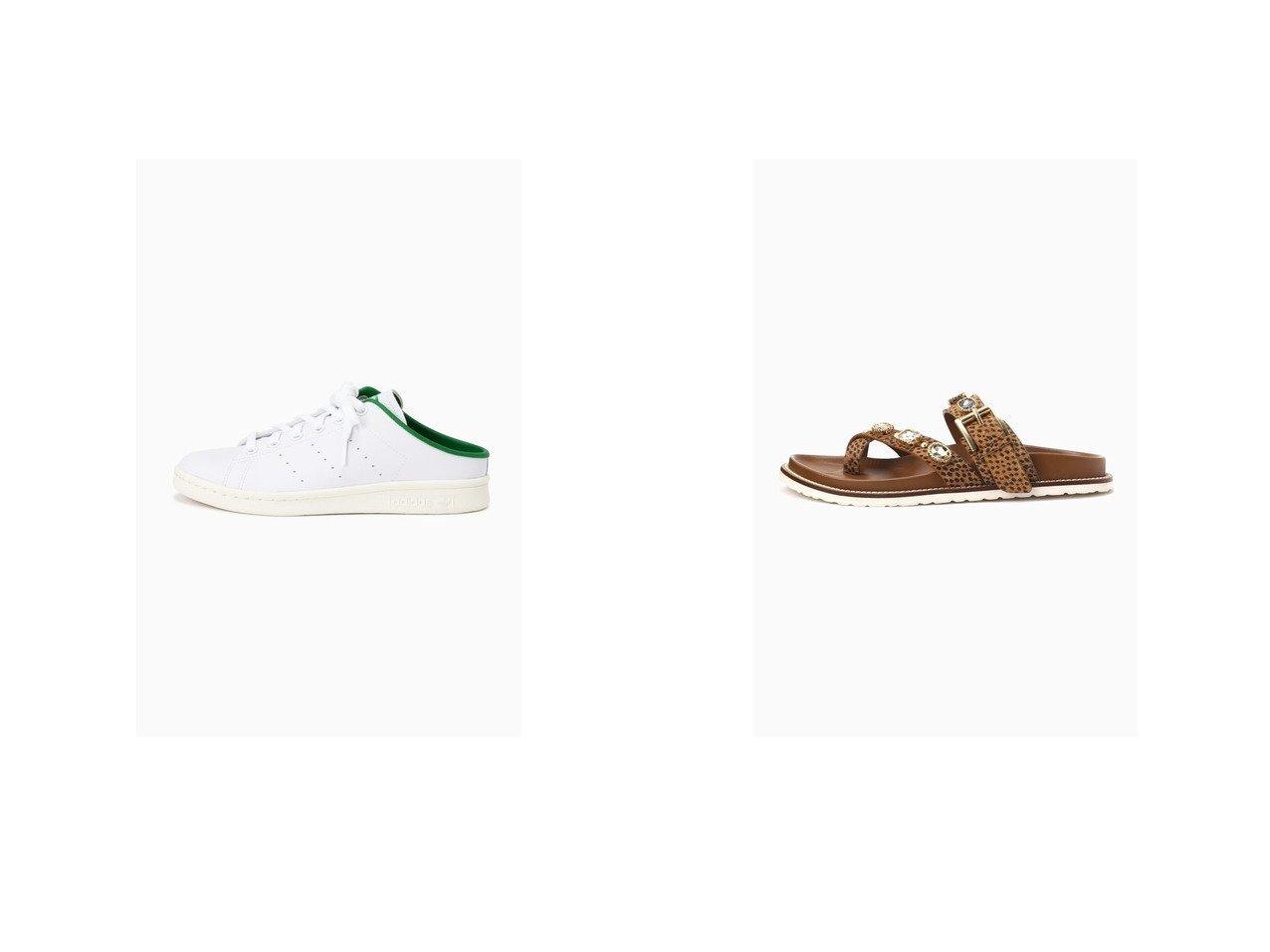【ROSE BUD/ローズバッド】のジュエルストラップサンダル&スタンスミス ミュール 【シューズ・靴】おすすめ!人気トレンド・レディースファッション通販 おすすめで人気の流行・トレンド、ファッションの通販商品 インテリア・家具・メンズファッション・キッズファッション・レディースファッション・服の通販 founy(ファニー) https://founy.com/ ファッション Fashion レディースファッション WOMEN 2021年 2021 2021春夏・S/S SS/Spring/Summer/2021 S/S・春夏 SS・Spring/Summer サンダル シンプル ジュエル スタッズ ラップ 人気 夏 Summer 春 Spring  ID:crp329100000050704