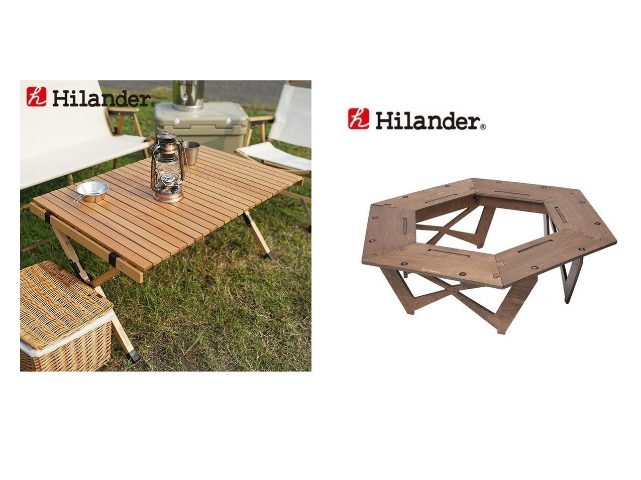 【Hilander/ハイランダー】のウッドロールトップテーブル2&プライウッドヘキサゴンテーブル 【アウトドアテーブル】おすすめ!人気キャンプ・アウトドア用品の通販 おすすめで人気の流行・トレンド、ファッションの通販商品 インテリア・家具・メンズファッション・キッズファッション・レディースファッション・服の通販 founy(ファニー) https://founy.com/ アウトドア キャップ スタンド テーブル ホーム・キャンプ・アウトドア Home,Garden,Outdoor,Camping Gear キャンプ用品・アウトドア  Camping Gear & Outdoor Supplies チェア テーブル Camp Chairs, Camping Tables ホーム・キャンプ・アウトドア Home,Garden,Outdoor,Camping Gear キャンプ用品・アウトドア  Camping Gear & Outdoor Supplies バーナー グリル Burner, Grill ホーム・キャンプ・アウトドア Home,Garden,Outdoor,Camping Gear キャンプ用品・アウトドア  Camping Gear & Outdoor Supplies 焚火台 ヒーター Bonfire stand, heater |ID:crp329100000050820