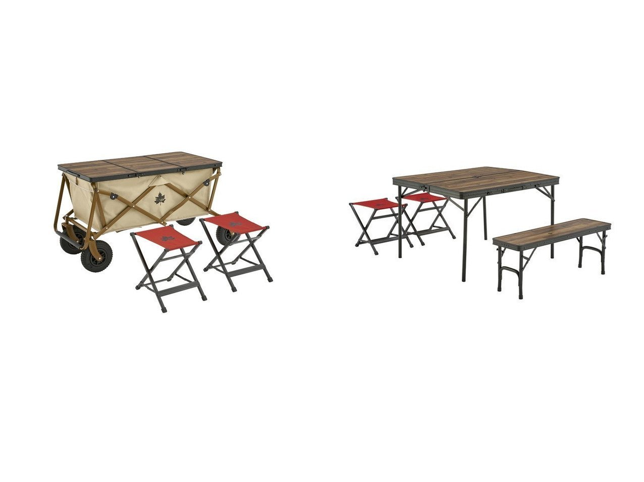 【LOGOS/ロゴス】のTracksleeper 3FDカートオンテーブルチェアセット2&Tracksleeper ベンチ チェアテーブルセット4 【アウトドアテーブル】おすすめ!人気キャンプ・アウトドア用品の通販 おすすめで人気の流行・トレンド、ファッションの通販商品 インテリア・家具・メンズファッション・キッズファッション・レディースファッション・服の通販 founy(ファニー) https://founy.com/ アウトドア コーティング スタンド テーブル フレーム プリント ホーム・キャンプ・アウトドア Home,Garden,Outdoor,Camping Gear キャンプ用品・アウトドア  Camping Gear & Outdoor Supplies チェア テーブル Camp Chairs, Camping Tables |ID:crp329100000050847