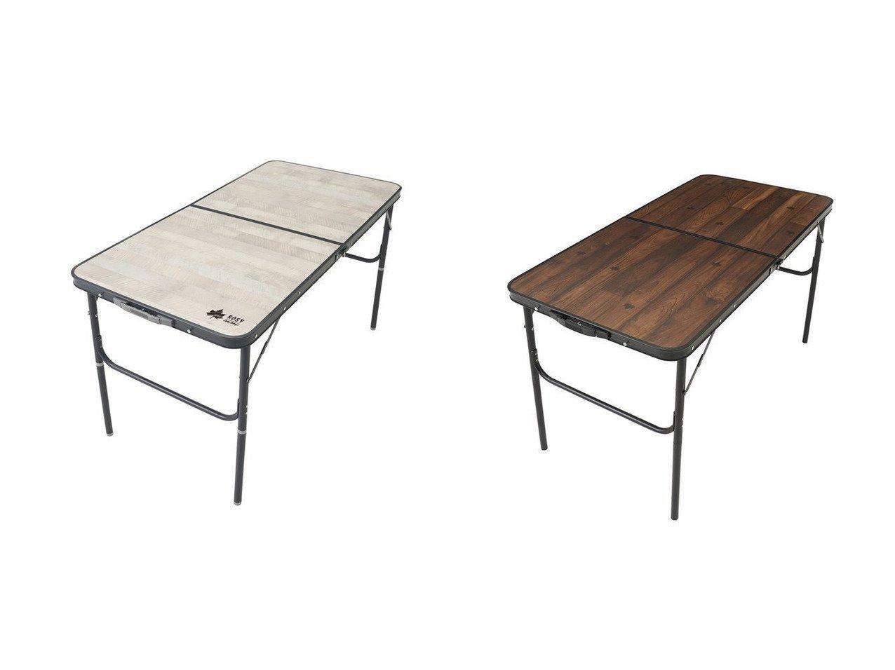 【LOGOS/ロゴス】の2021年新商品 ROSY ファミリーテーブル&2021年新商品 Tracksleeper テーブル 【アウトドアテーブル】おすすめ!人気キャンプ・アウトドア用品の通販 おすすめで人気の流行・トレンド、ファッションの通販商品 インテリア・家具・メンズファッション・キッズファッション・レディースファッション・服の通販 founy(ファニー) https://founy.com/ アウトドア スタンド テーブル パターン フレーム プリント ホーム・キャンプ・アウトドア Home,Garden,Outdoor,Camping Gear キャンプ用品・アウトドア  Camping Gear & Outdoor Supplies チェア テーブル Camp Chairs, Camping Tables |ID:crp329100000050849