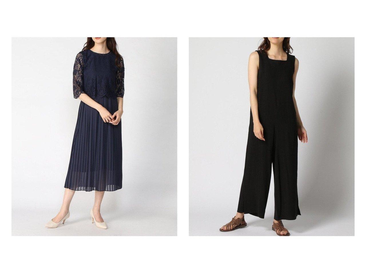 【GLOBAL WORK/グローバルワーク】のレースBLプリーツOP+D&リネンコンオールインワン+D プチプライス・低価格】おすすめ!人気トレンド・レディースファッション通販 おすすめで人気の流行・トレンド、ファッションの通販商品 インテリア・家具・メンズファッション・キッズファッション・レディースファッション・服の通販 founy(ファニー) https://founy.com/ ファッション Fashion レディースファッション WOMEN ワンピース Dress シフォン プリーツ レース ロング NEW・新作・新着・新入荷 New Arrivals サロペット シンプル ジャケット ジーンズ スクエア リラックス 日本製 Made in Japan  ID:crp329100000050953