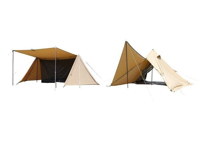 【BUNDOK/バンドック】のソロティピー1TC&ソロベースTCサンドベージュ 【テント】おすすめ!人気キャンプ・アウトドア用品の通販 おすすめ人気トレンドファッション通販アイテム 人気、トレンドファッション・服の通販 founy(ファニー) インナー 軽量 メッシュ 冬 Winter 夏 Summer ホーム・キャンプ・アウトドア Home,Garden,Outdoor,Camping Gear キャンプ用品・アウトドア  Camping Gear & Outdoor Supplies テント タープ Tents, Tarp  ID:crp329100000051133