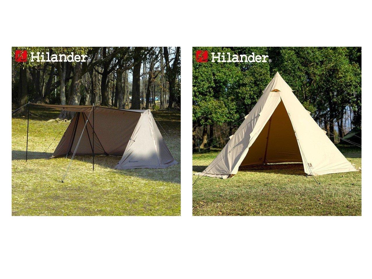 【Hilander/ハイランダー】のハンガーフレームシェルター クロシェト(キャノピーポール2本付き)&A型フレーム ネヴィス 400 【テント】おすすめ!人気キャンプ・アウトドア用品の通販 おすすめで人気の流行・トレンド、ファッションの通販商品 インテリア・家具・メンズファッション・キッズファッション・レディースファッション・服の通販 founy(ファニー) https://founy.com/ インナー ダブル フレーム ホーム・キャンプ・アウトドア Home,Garden,Outdoor,Camping Gear キャンプ用品・アウトドア  Camping Gear & Outdoor Supplies テント タープ Tents, Tarp  ID:crp329100000051151