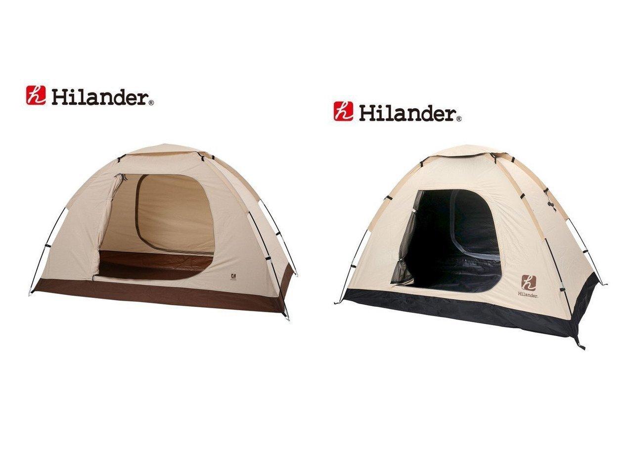【Hilander/ハイランダー】の自立式インナーテント(遮光)&自立式インナーテント(ポリコットン) 【テント】おすすめ!人気キャンプ・アウトドア用品の通販 おすすめで人気の流行・トレンド、ファッションの通販商品 インテリア・家具・メンズファッション・キッズファッション・レディースファッション・服の通販 founy(ファニー) https://founy.com/ インナー コーティング メッシュ ホーム・キャンプ・アウトドア Home,Garden,Outdoor,Camping Gear キャンプ用品・アウトドア  Camping Gear & Outdoor Supplies テント タープ Tents, Tarp  ID:crp329100000051160