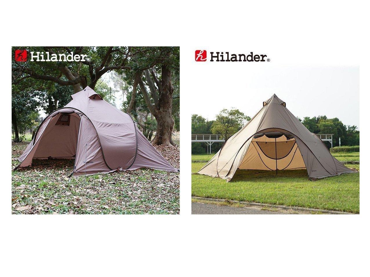 【Hilander/ハイランダー】のポップワンポールテント フィンガル スカート付き 限定カラー&ポップワンポールテント フィンガル ソロ(インナー+グランドシート付き) 【テント】おすすめ!人気キャンプ・アウトドア用品の通販 おすすめで人気の流行・トレンド、ファッションの通販商品 インテリア・家具・メンズファッション・キッズファッション・レディースファッション・服の通販 founy(ファニー) https://founy.com/ インナー グラス フレーム ホーム・キャンプ・アウトドア Home,Garden,Outdoor,Camping Gear キャンプ用品・アウトドア  Camping Gear & Outdoor Supplies テント タープ Tents, Tarp  ID:crp329100000051161