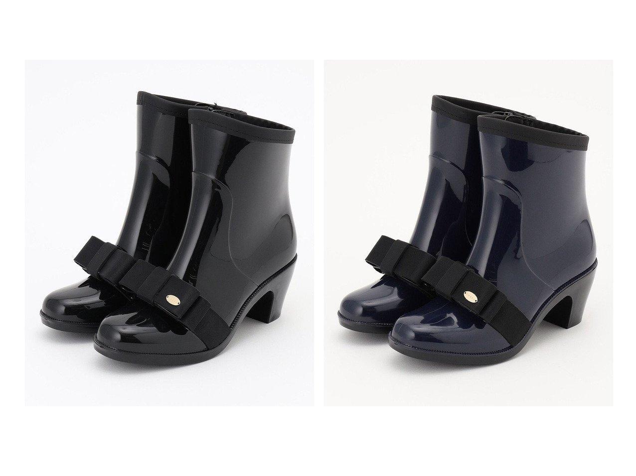 【TOCCA/トッカ】のTIED RIBBON RAIN BOOTS レインブーツ 【シューズ・靴】おすすめ!人気、トレンド・レディースファッションの通販 おすすめで人気の流行・トレンド、ファッションの通販商品 インテリア・家具・メンズファッション・キッズファッション・レディースファッション・服の通販 founy(ファニー) https://founy.com/ ファッション Fashion レディースファッション WOMEN 送料無料 Free Shipping 冬 Winter エレガント シューズ フォルム フロント モチーフ リボン |ID:crp329100000051243