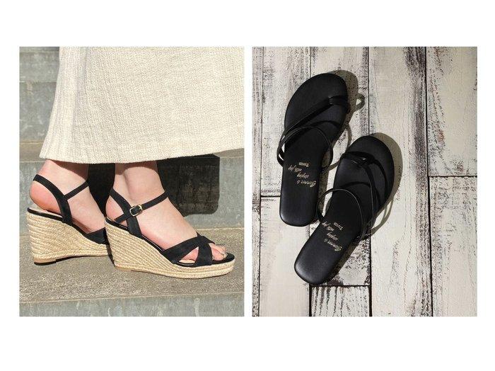 【EVOL/イーボル】の【EVOL】 ウエッジサンダル&【N.Natural Beauty basic/エヌ ナチュラルビューティーベーシック】のアシンメトリーフラットサンダル 【シューズ・靴】おすすめ!人気、トレンド・レディースファッションの通販 おすすめ人気トレンドファッション通販アイテム インテリア・キッズ・メンズ・レディースファッション・服の通販 founy(ファニー) https://founy.com/ ファッション Fashion レディースファッション WOMEN アシンメトリー サンダル デニム フラット マキシ シューズ ジュート ラップ  ID:crp329100000051245