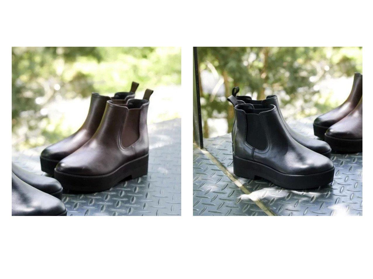 【Odette e Odile/オデット エ オディール】のO プラットフォームサイドゴア ショートブーツ 【シューズ・靴】おすすめ!人気、トレンド・レディースファッションの通販 おすすめで人気の流行・トレンド、ファッションの通販商品 インテリア・家具・メンズファッション・キッズファッション・レディースファッション・服の通販 founy(ファニー) https://founy.com/ ファッション Fashion レディースファッション WOMEN シューズ ショート バランス |ID:crp329100000051248