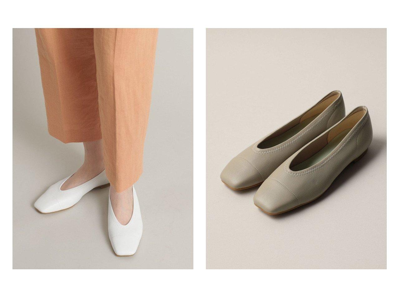 【Odette e Odile/オデット エ オディール】のOFC スクエアストレッチ FLT10↓↑ 【シューズ・靴】おすすめ!人気、トレンド・レディースファッションの通販 おすすめで人気の流行・トレンド、ファッションの通販商品 インテリア・家具・メンズファッション・キッズファッション・レディースファッション・服の通販 founy(ファニー) https://founy.com/ ファッション Fashion レディースファッション WOMEN シューズ スクエア ストレッチ フラット リラックス |ID:crp329100000051253