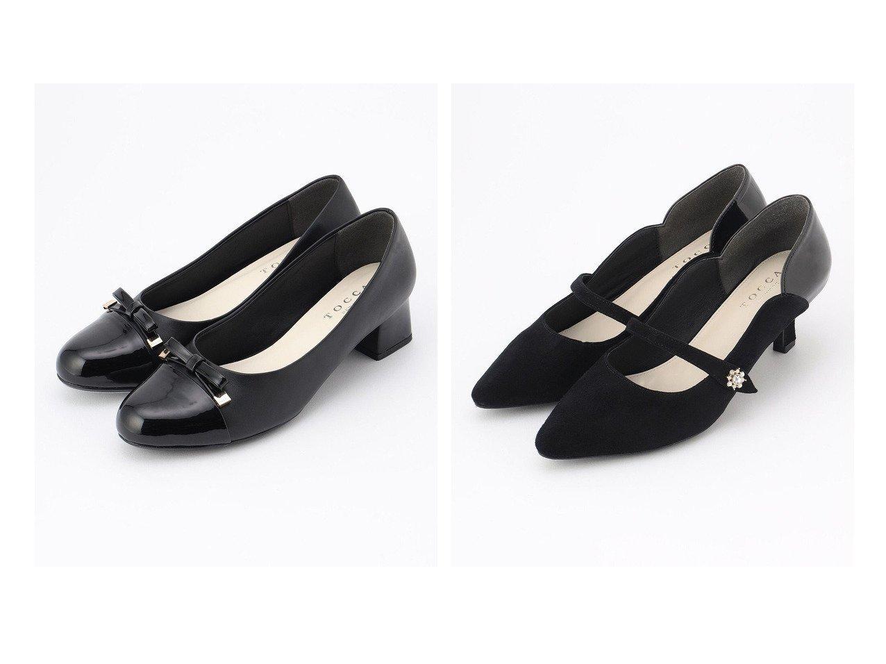【TOCCA/トッカ】のTINY RIBBON RAIN PUMPS レインパンプス&BIJOUX STRAP PUMPS パンプス 【シューズ・靴】おすすめ!人気、トレンド・レディースファッションの通販 おすすめで人気の流行・トレンド、ファッションの通販商品 インテリア・家具・メンズファッション・キッズファッション・レディースファッション・服の通販 founy(ファニー) https://founy.com/ ファッション Fashion レディースファッション WOMEN エナメル クッション シューズ メタル ライナー リボン 冬 Winter 送料無料 Free Shipping エレガント カッティング パール ビジュー フェミニン フォルム フレンチ ラップ |ID:crp329100000051257