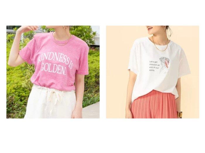 【NOLLEY'S/ノーリーズ】の【WEB限定】KINDNESS IS GOLDEN.Tシャツ&KKイラストTシャツ 【トップス・カットソー】おすすめ!人気、トレンド・レディースファッションの通販 おすすめ人気トレンドファッション通販アイテム インテリア・キッズ・メンズ・レディースファッション・服の通販 founy(ファニー) https://founy.com/ ファッション Fashion レディースファッション WOMEN トップス・カットソー Tops/Tshirt シャツ/ブラウス Shirts/Blouses ロング / Tシャツ T-Shirts カットソー Cut and Sewn おすすめ Recommend イラスト カットソー モチーフ 半袖 |ID:crp329100000051445